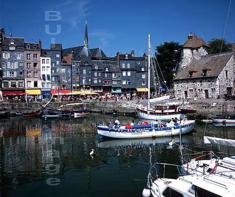 Honfleur harbour, Brittany