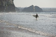 i-007114 (Surfer, Watergate Bay, Cornwall)